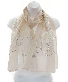 sheer scarf <3