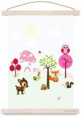 poster forest friends | Kinderkamer posters