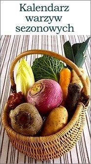 Warzywa sezonowe – kalendarz | Bea w Kuchni