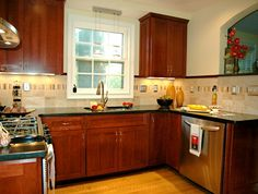 Classic Kitchen with Archway | RJK Construction, Inc. | RJK