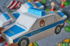 Freebie: Einladungen zum Polizei-Geburtstag zum Ausdrucken und selbst Basteln.