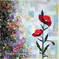 Stitchin' Therapy: Tutorial Design a Watercolor Quilt