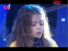 Erza Muqolli an albanian girl. She is only 9 years old! And she has an incredible voice! She was on France got Talent!