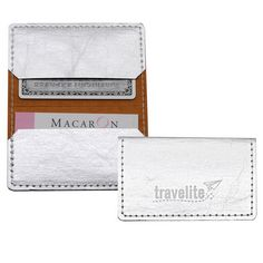 Daniel Promotions provides smart, unique and innovative promotional products and branded gifts that enable businesses to extend their brand experience to virtually anywhere. Pocket Wallet, Card Wallet, Employee Gifts, Branded Gifts, Client Gifts, Vegan Leather, Promotion, Card Holder, Credit Cards