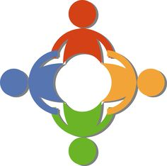 Teamwork Of A Circle Diverse People Holding Hands By 00017 clipart Community Helpers, Community Manager, Community Logo, Community Building, People Holding Hands, Hand Clipart, Sleepy Dogs, Teacher Blogs, Spiritual Practices
