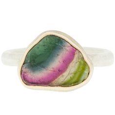 The most amazing watermelon tourmaline Jamie Joseph ring!