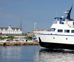 Block Island Ferry, World's Most Beautiful Ferry Rides, Travel + Leisure World's Most Beautiful, Beautiful Places, Block Island Ferry, Victoria Harbour, Newport Rhode Island, Travel And Leisure, East Coast, New England, Waterfire Providence