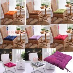 Square Cotton Seat Cushion Buttocks Chair Cushion Pads For Home Office Decor