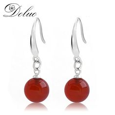 Cheap for jewelry, Buy Quality for earrings directly from China jewelry fashion Suppliers: Agate Earrings Red Crystal Stone Earrings Blackstone Fashion Earrings Jewelry for female