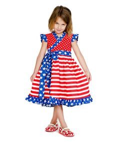 Look at this Red & Blue Mischa Dress - Infant, Toddler & Girls on #zulily today!