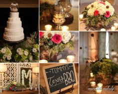 Meg and Tommy - southern wedding decor