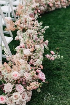 Blog - Page 2 of 62 - Rachel A. Clingen Wedding & Event Design Aisle Flowers, Wedding Ceremony Flowers, Event Planning Design, Event Design, Magical Wedding, Dream Wedding, Wedding Isle Decorations, Large Floral Arrangements, Wedding Isles