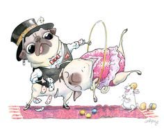 This pug brought to you by Victoria V, in honor of a marvelous donation to help pugs and other pups!