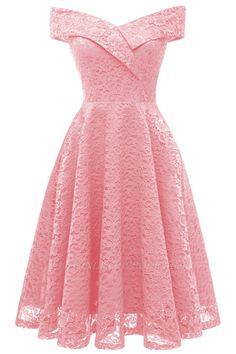 formal dresses 2018 Red Bridesmaid Dresses Short Dresses for Wedding Party Formal Dress Cute Lace Dresses, Cheap Formal Dresses, Floral Lace Dress, Trendy Dresses, Boho Dress, Vintage Dresses, Casual Dresses, Short Dresses, Tulle Lace