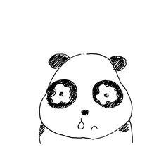 【一日一大熊猫】2017.2.20 花粉症は結膜炎もあるし、副鼻腔炎も引き起こしたりするよ。 あーやだやだ。 今日はアレルギーの日。 #パンダ #アレルギーの日