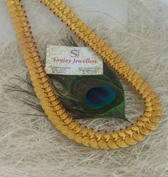 Kaasu Mala, Temple Jewellery, Jewelry Collection, Gold Jewelry, Crochet Earrings, Jewelry Design, Bangles, Jewels, Silver