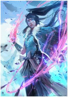 As personagens femininas de mundos de fantasia reimaginadas por Ross Tran