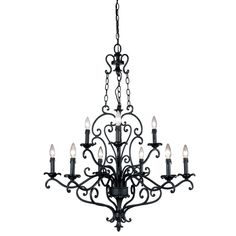 Buy the Eurofase Lighting Ancient Bronze with Silver Accents Direct. Shop for the Eurofase Lighting Ancient Bronze with Silver Accents Nine Light Up Lighting Two Tier Chandelier from the Leah Collection and save. Lighting Universe, Accent Lighting, Light Up, Bronze, Ceiling Lights, Silver, Collection, Chandeliers, Master Bath