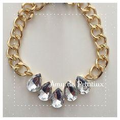 Crystal necklace Amy de Petatiux