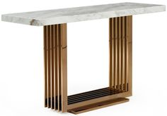Enhance any living space with the Fabrizio White Top Marble Console Table. Works great in hallways, foyers or as a sofa console table. Decor, Marble Console Table, Console Furniture, Art Deco Console Table, Contemporary Decor, Home Decor, Console Table, Cool Furniture, Diy Sofa Table