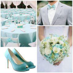 Kleurinspiratie: zeeblauw kleuraccenten voor jullie bruiloft www.weddings.nl