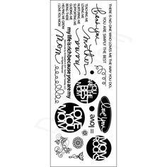 TECHNIQUE TUESDAY-Clear Stamp Sets. These clear stamps are made of the highest quality photopolymer and feature a wide variety of designs and themes for every stamping project! This package contains one 8x3 inch sheet of clear stamps. Price €14,99
