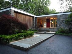 Like this exterior and entrance