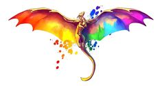 Pride Dragon by kaenith