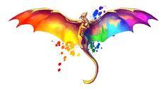 Pride Dragon von kaenith