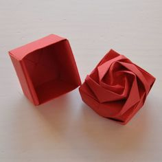 Origami Rose Box | Origami Tutorials
