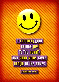 joy cheerful bible proverbs quote happy Text art