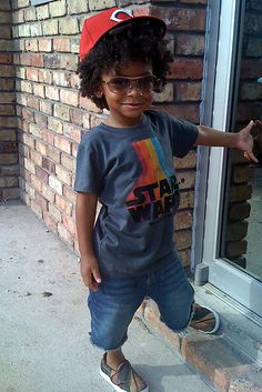 My son will be hip just like this, because he owns a SW shirt!
