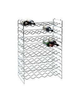 Stackable Wine Rack 6 Bottle Row $16.95. Available at Howards Storage World