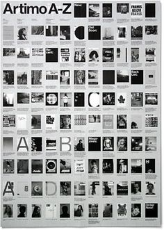 A2 sized poster designed to portray the work of Artimo, instead of creating a complex brochure with lots of texts to describe each individu...