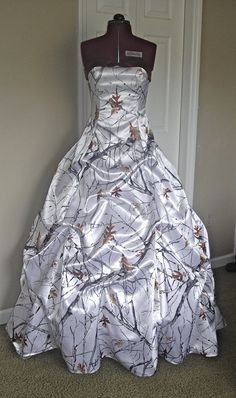 Hey, I found this really awesome Etsy listing at https://www.etsy.com/listing/162365737/camo-dress-made-to-order-gown-with