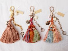 Tassel Keychain I had some of these some years ago and they still look great.