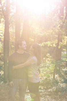 Blue Mountain Engagement Photography for Ridiculously Happy People