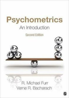 Psychometrics : An Introduction by R. Michael Furr and Verne R. Bacharach (2013, 9781452256801 | eBay