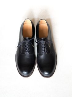 forme Men's MC Plain Toe Shoes - Carf (外羽根)