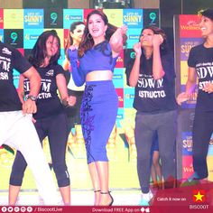 #SunnyLeone danced her heart out at her workout DVD launch!