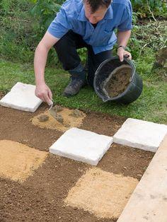 Create a Checkerboard Garden - on HGTV