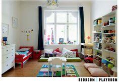 Bedroom & Playroom in one : )