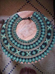 Beaded Collar, Beaded Choker, Beaded Jewelry Patterns, Beading Patterns, Ideas Joyería, Seed Bead Jewelry, Beading Projects, Beads And Wire, Bead Art