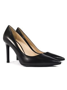 Court Shoes, Just In Case, Buy Now, Cool Style, Kitten Heels, Black Leather, Pumps, Stuff To Buy, Collections
