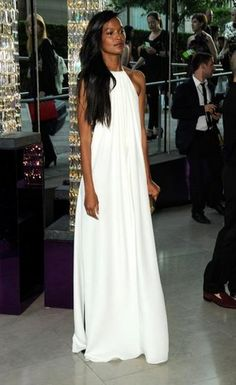 a92addf6b3bc All white party dress Long White Summer Dresses