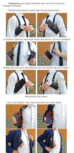 Premium handcrafted holster for your phone, wallet and keys.Feel absolutely free in your daily activity.