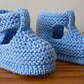 Des chaussons avec une forme de chaussures
