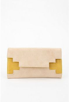 Geo Cutout Wallet, Urban Outfitters