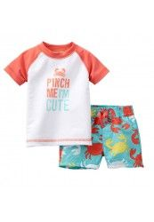 Carter's swimwear at Kohl's - Shop our full selection of boys' swimwear, including this baby Carter's Baby Boy Swimwear, Baby Swimsuit, Kids Swimwear, Little Boy Outfits, Baby Boy Outfits, Baby Orange, Baby Blue, Baby Doll Accessories, Newborn Baby Dolls