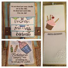 Birthday Card for Boss...Waterfall Design